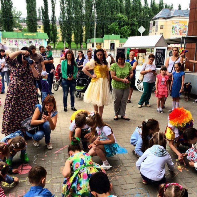 День защиты детей ТРЦ Радуга