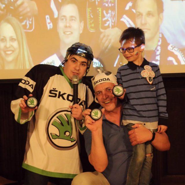 Просмотр хоккейного матча с Л-Ринг Шкода