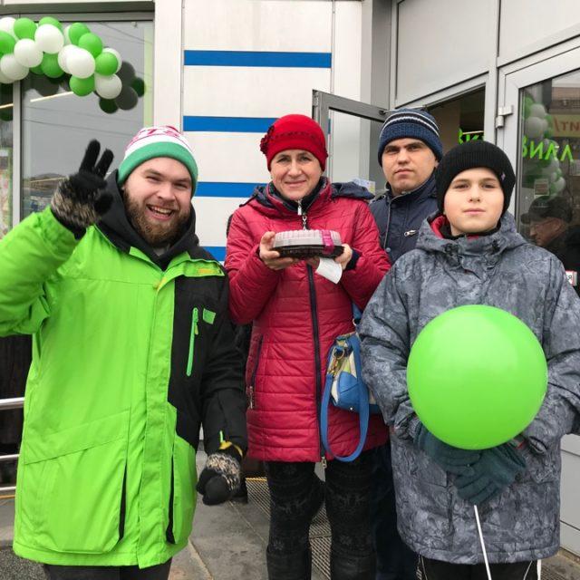 Открытие магазинов ТМ «ВкусВилл» в г. Липецк